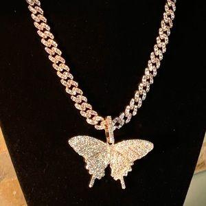 Kimora Swallowtail Necklace